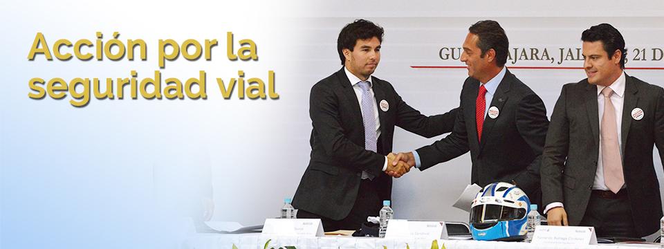 """Firma del convenio """"Acción por la Seguridad Vial"""""""
